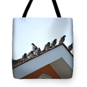 Morning Meet Tote Bag