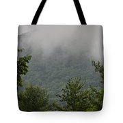 Morning Mist Bluestone State Park West Virginia Tote Bag