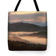 Morning Mist Four Tote Bag