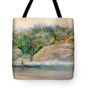 Morning Mist High Island Tote Bag