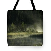 Morning Mist On The Gunflint Trail Tote Bag