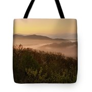 Morning Mist Three Tote Bag