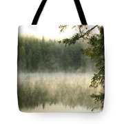 Morning Mists Tote Bag