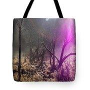Morning Misty Flare Tote Bag