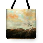 Morning New Mexico II Tote Bag