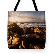 Morning Ocean Panorama Tote Bag