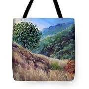 Morning On A Hilltop Tote Bag