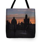 Morning On Charles Bridge Tote Bag