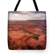 Morning On Dead Horse Point Tote Bag
