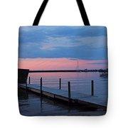 Morning On Lake Huron Tote Bag