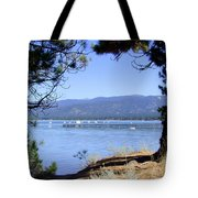 Morning On Lake Tahoe Tote Bag