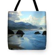 Morning On The Oregon Coast Tote Bag