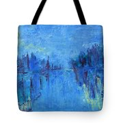 Morning On The Point Tote Bag