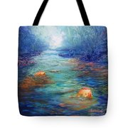 Morning On The Stream #3 Tote Bag