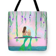Morning On The Swing Tote Bag