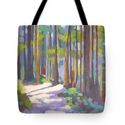 Morning On The Trail Tote Bag