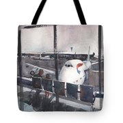 Morning Over Heathrow Tote Bag