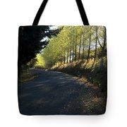 Morning Path Tote Bag