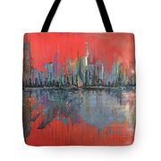 Morning Reflects Illusion Tote Bag