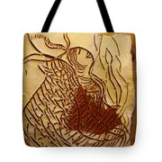 Morning Rose - Tile Tote Bag