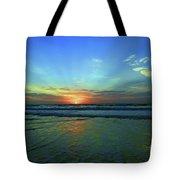 Morning Sea Foam Tote Bag