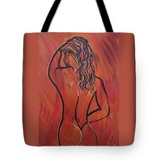 Morning Shower Tote Bag by Bill Manson