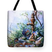 Morning Shower Tote Bag by Hanne Lore Koehler