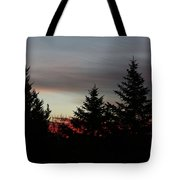 Morning Silhouette 2 Tote Bag