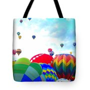 Morning Skies Tote Bag