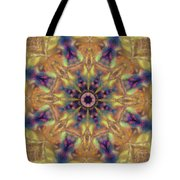 10300 Morning Sky Kaleidoscope 01a Tote Bag