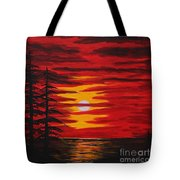 Morning Sky Tote Bag