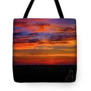Morning Sky Over Washington D C Tote Bag