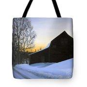 Morning Solitude Tote Bag