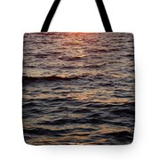 Morning Sun On The Water Tote Bag