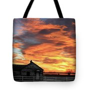 Morning Sunrise 2-14-2011 Tote Bag
