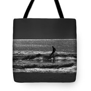 Morning Surfer Tote Bag