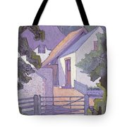 Morning, The South Downs By Robert Polhill Bevan Tote Bag