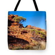 Morning To The Kings Canyon Rim - Northern Territory, Australia Tote Bag