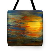 Morning View From Hill Street With City Lights Tote Bag