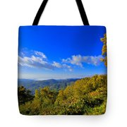 Early Fall Morning View Tote Bag