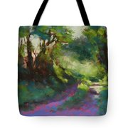 Morning Walk II Tote Bag
