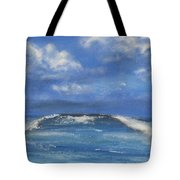 Morning Waves, 9x12, Oil, '08 Tote Bag