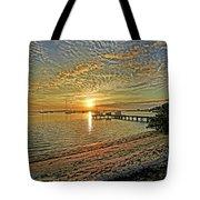 Mornings Embrace Tote Bag
