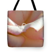 Mornings Water Droplets Tote Bag