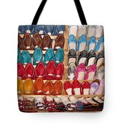 Moroccan Shoes 3 Tote Bag