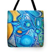 Morphism And Energy Tote Bag