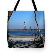 Morris Island Lighthouse Charleston Sc Tote Bag