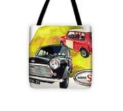 Morris Mini Cooper S Tote Bag