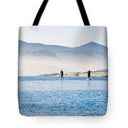 Morro Bay Paddle Boarders Tote Bag