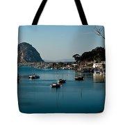 Morro Bay Rock Tote Bag